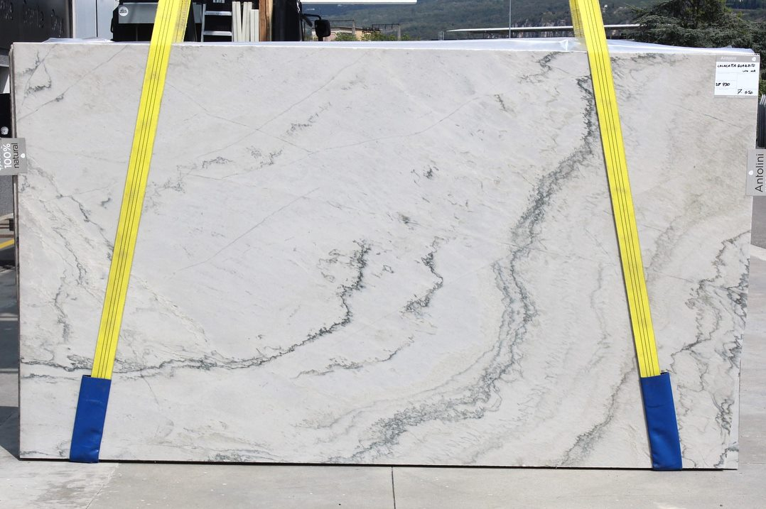 Calacatta Quartzite Slabs Polished White Quartzite Slabs