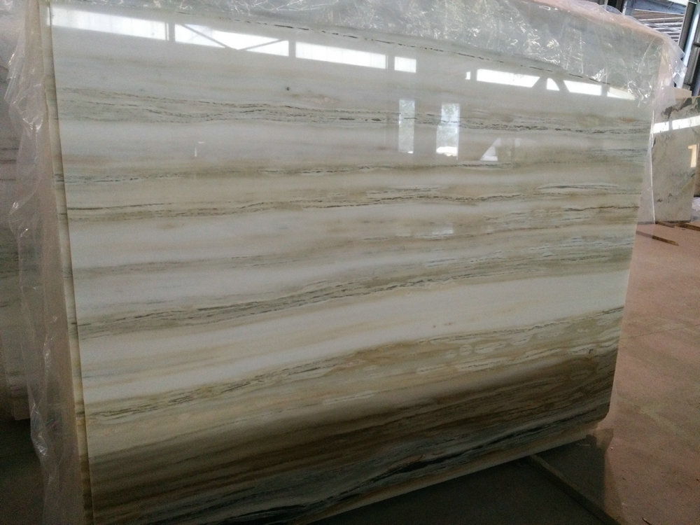 Calacatta Serpeggiante Slabs White Polished Marble Stone Slabs