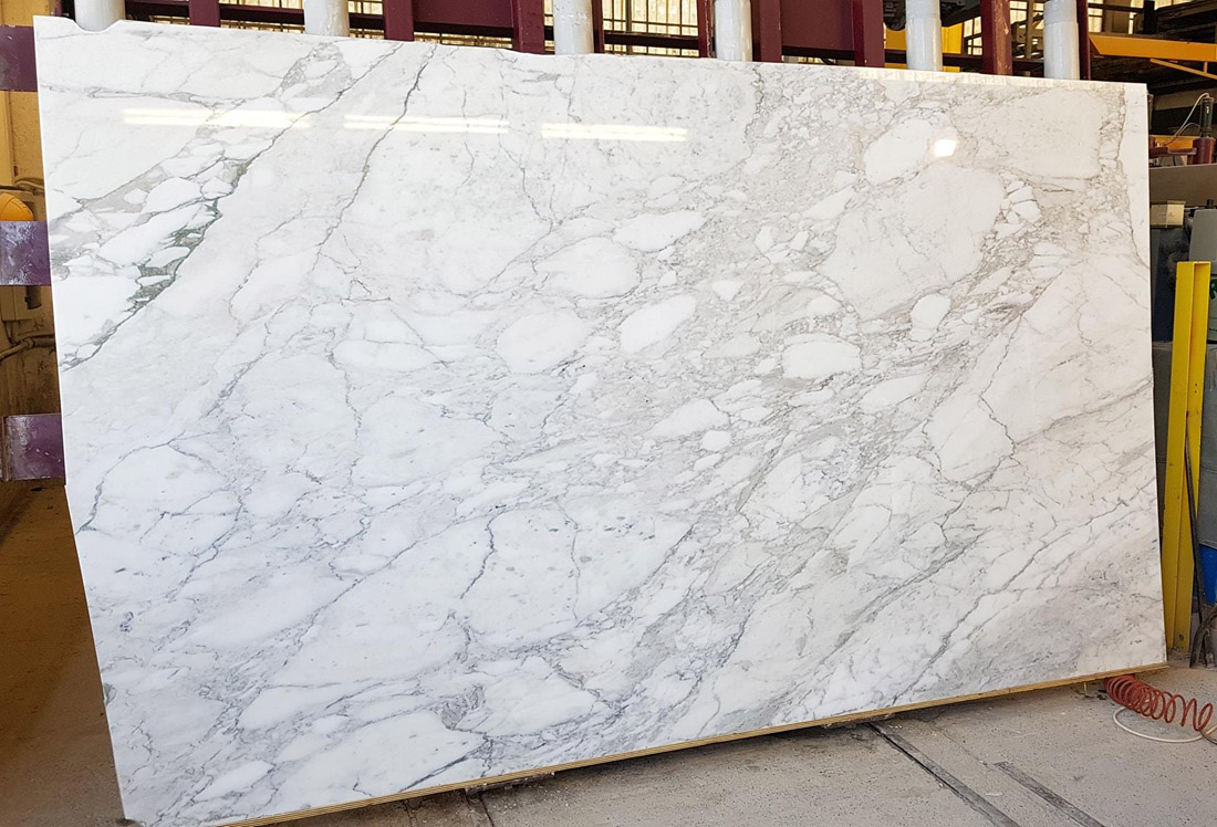 Calacatta Slabs Italian Polished White Marble Slabs with High Quality
