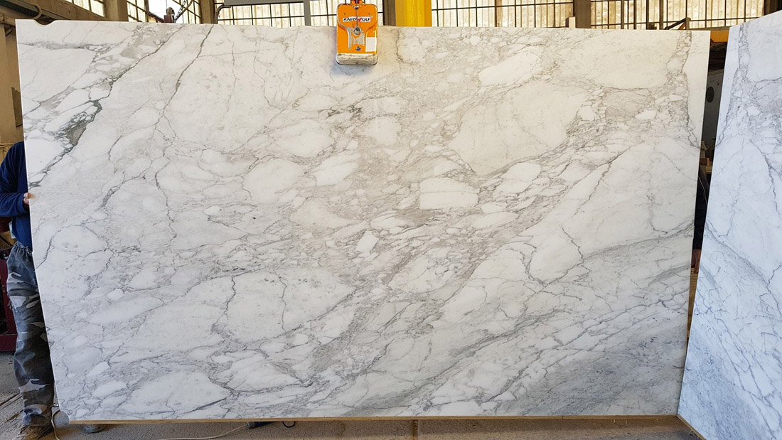 Calacatta Slabs Polished White Marble Slabs with High Quality