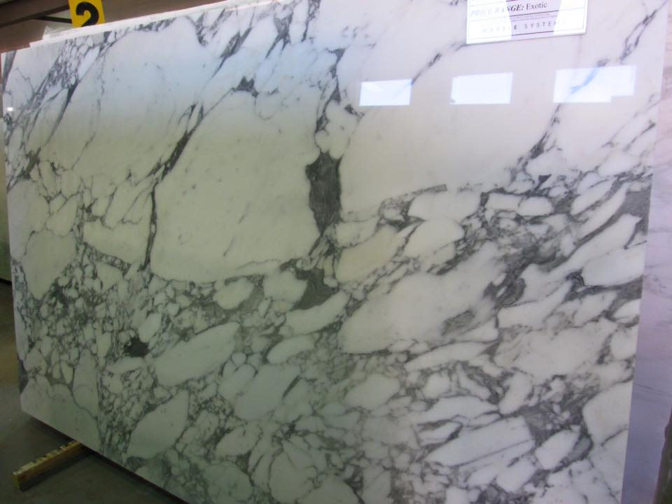 Calacatta Slabs Polished White Marble Slabs