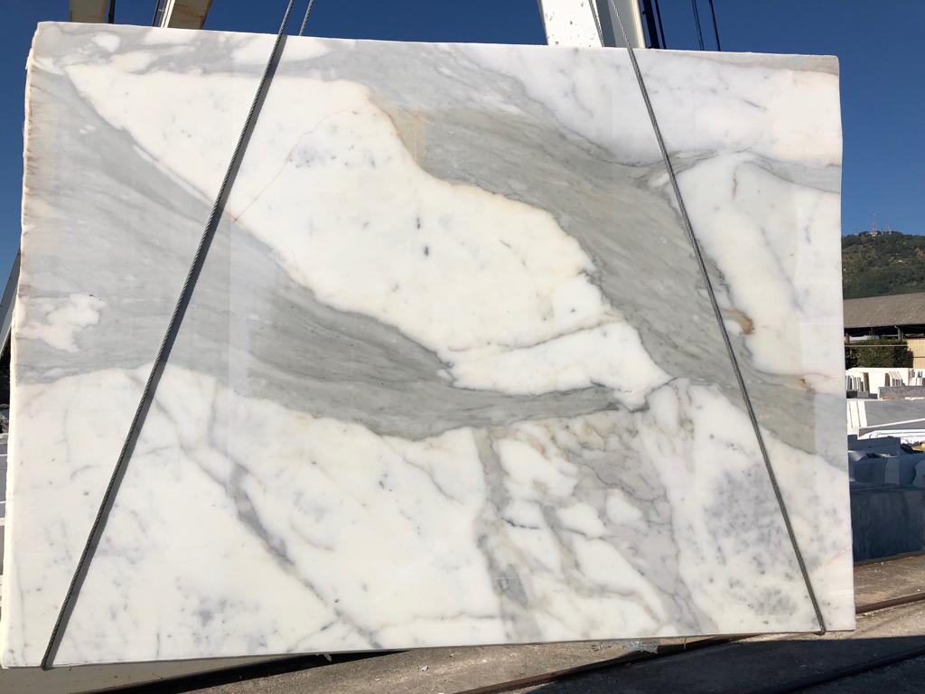 Calacatta Slabs White Polished Marble Slabs
