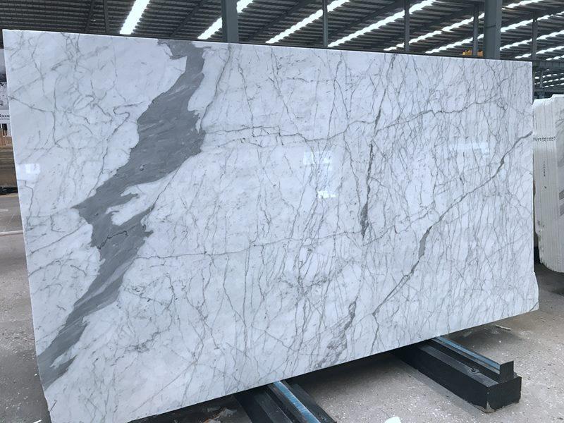 Italian Calacatta Statuario Marble Slab