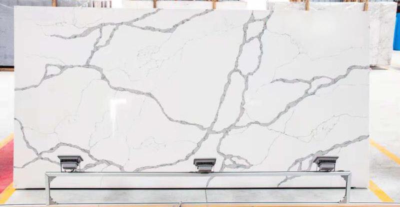 Calacatta Statuario White Quartz Slabs