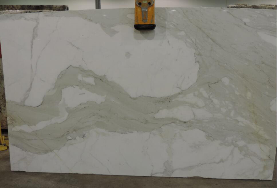 Calacatta Supreme Marble Slabs White Polished Marble for Bathroom Vanity Tops
