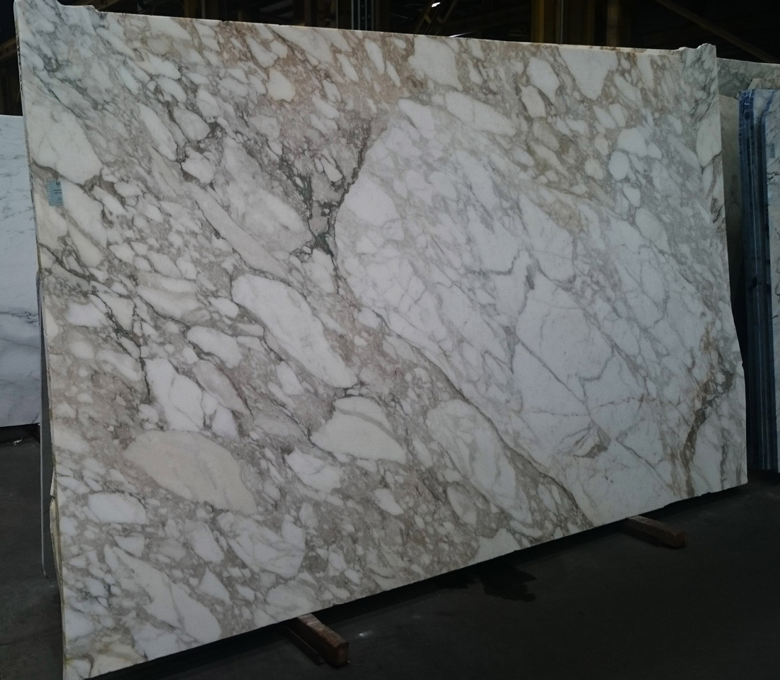 Calacatta Vagli Oro Marble Slab White Honed Marble Slabs