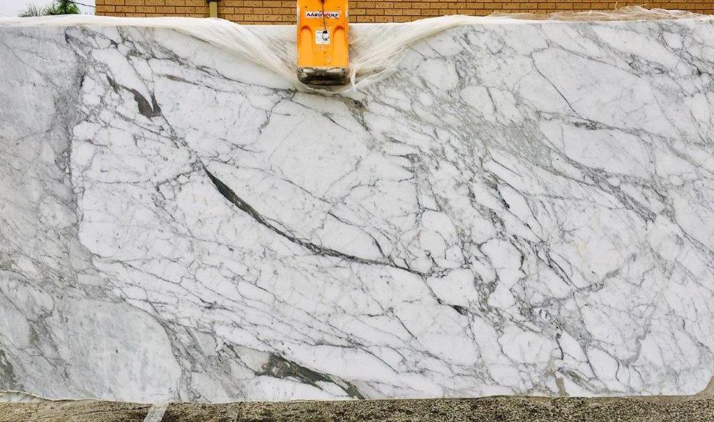 Calacatta Vagli Polished Marble Slabs Italian White Marble for Vanity Tops