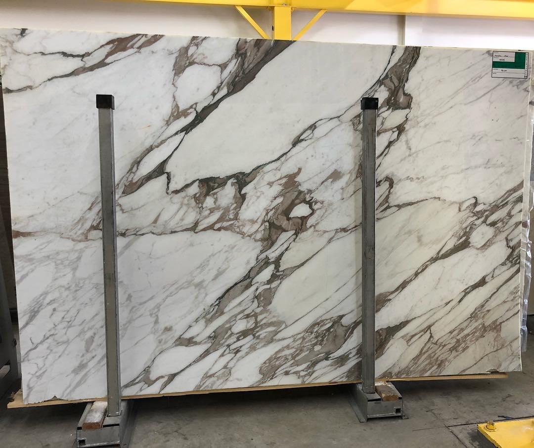 Calacatta Vagli Slabs White Polished Marble Stone Slabs