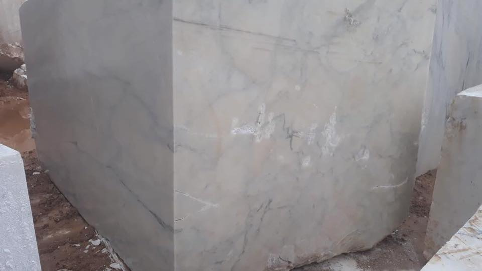 Calacatta Verde Blocks White Marble Blocks Natural Stone Blocks