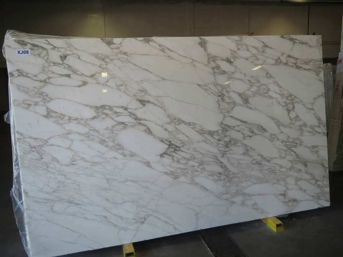 Calacatta Viagli Marble Slabs White Polished Marble Slabs