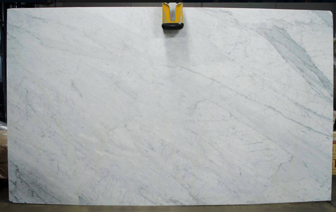 Calacatta Wave White Marble Slabs