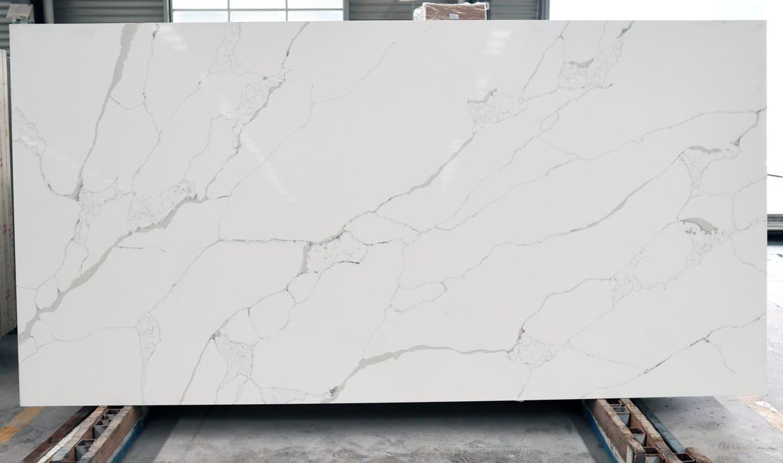 Calacatta White Artificial Stone Quartz Slabs