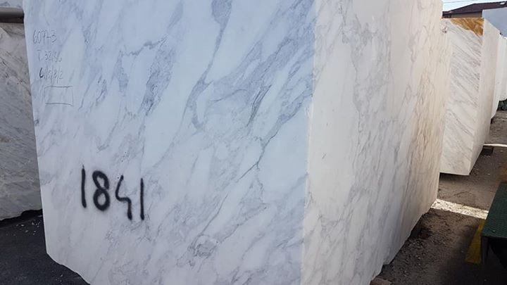 Calacatta White Marble Blocks