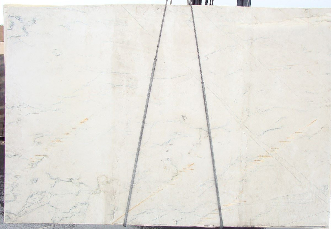 Calacatta White Quartzite Polished Slabs for Kitchen Countertops