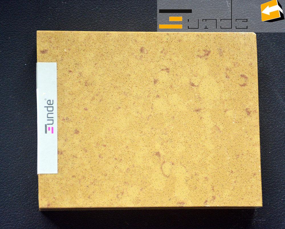 Calacatta beige quartz stone tile jd406-1