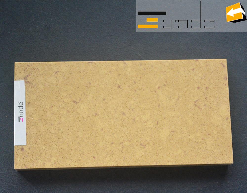 Calacatta beige quartz stone tile jd406-3