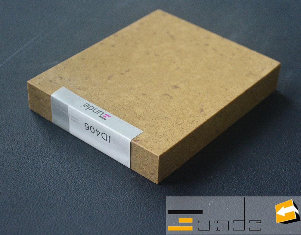 Calacatta beige quartz stone tile jd406-4