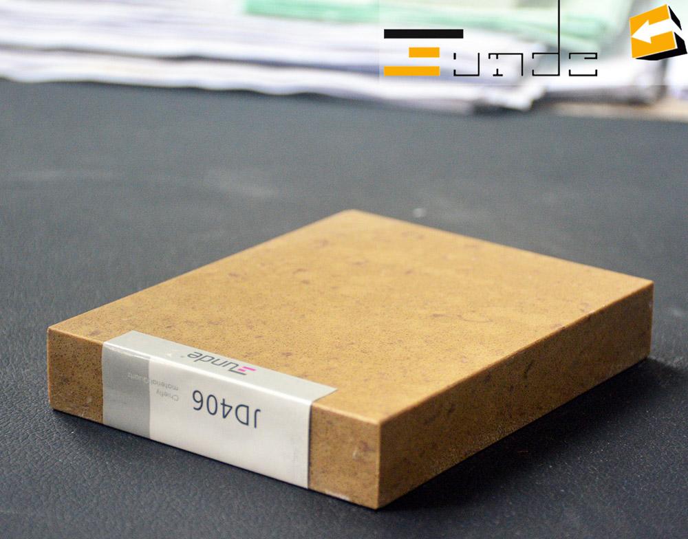 Calacatta beige quartz stone tile jd406