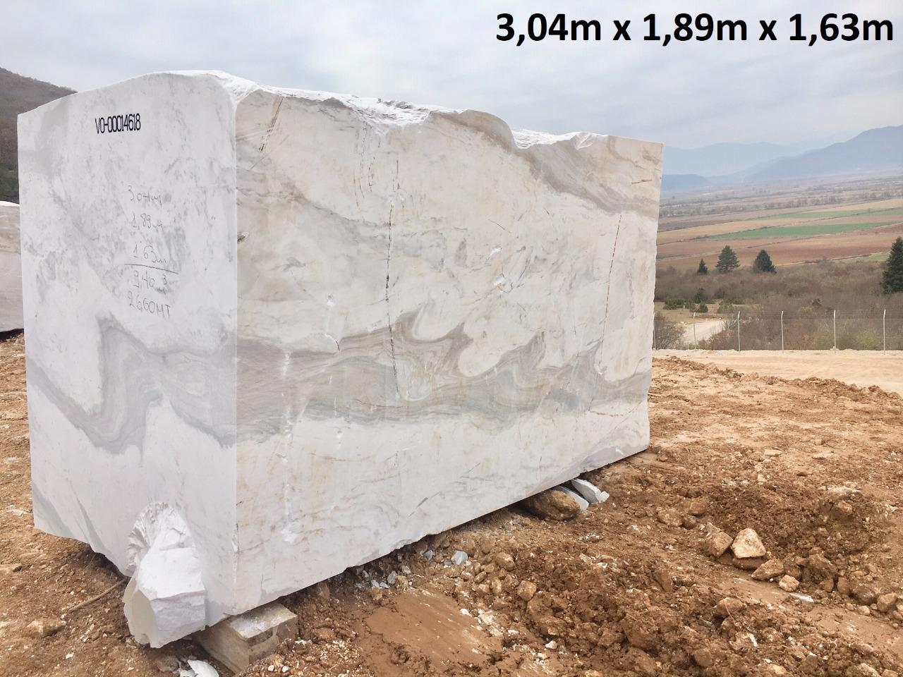 Calacatto Marble Blocks White Marble Blocks