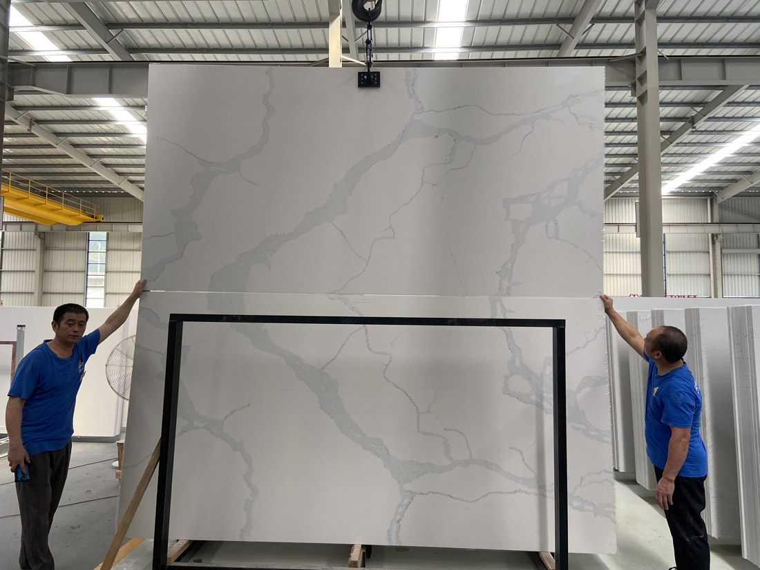 New Calaeatta quartz slab China factory 3