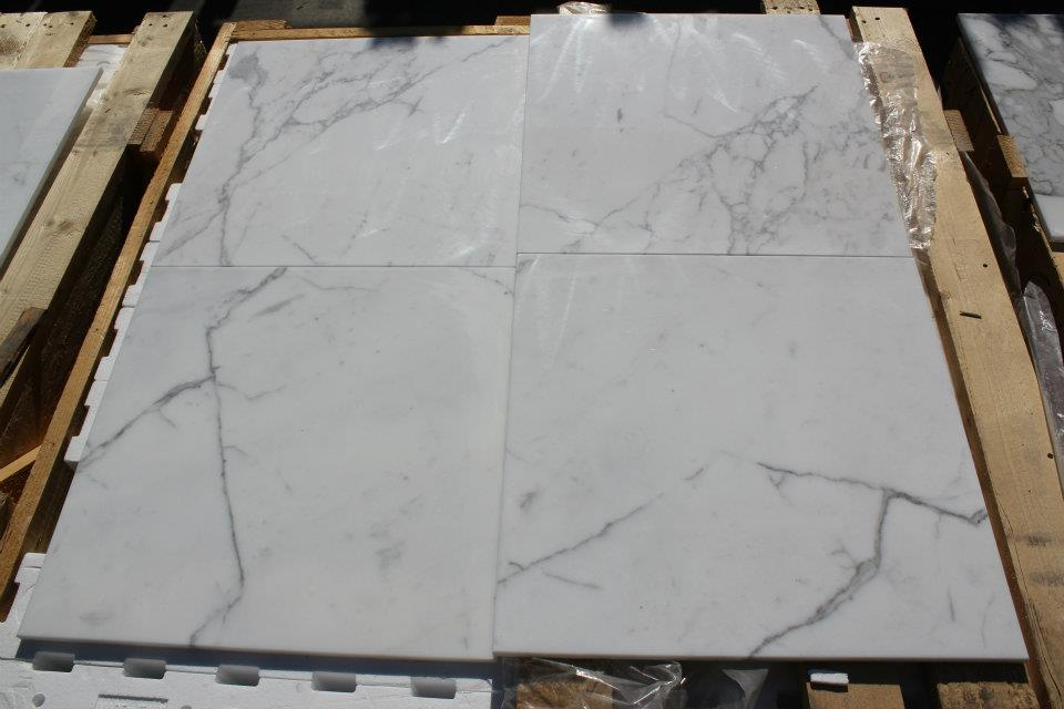 Calcatta Classico Polished White Marble Tiles Flooring Tiles
