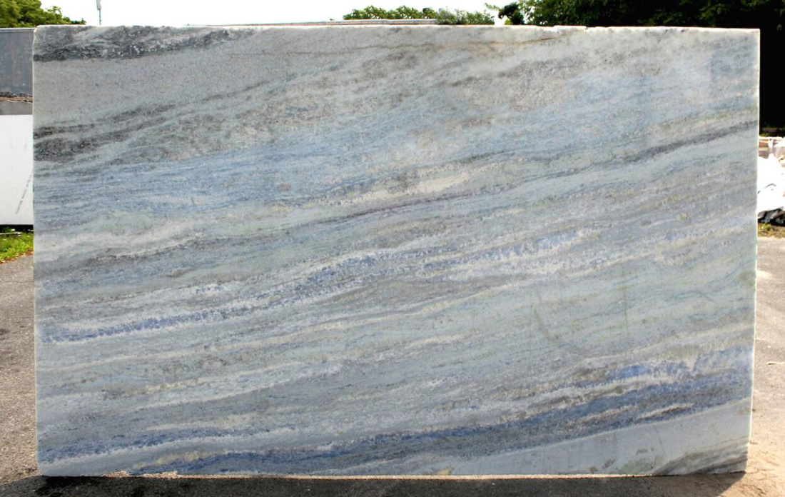 Calcite Azu Extra Marble Polished Slabs Brazilian Blue Marble Slabs