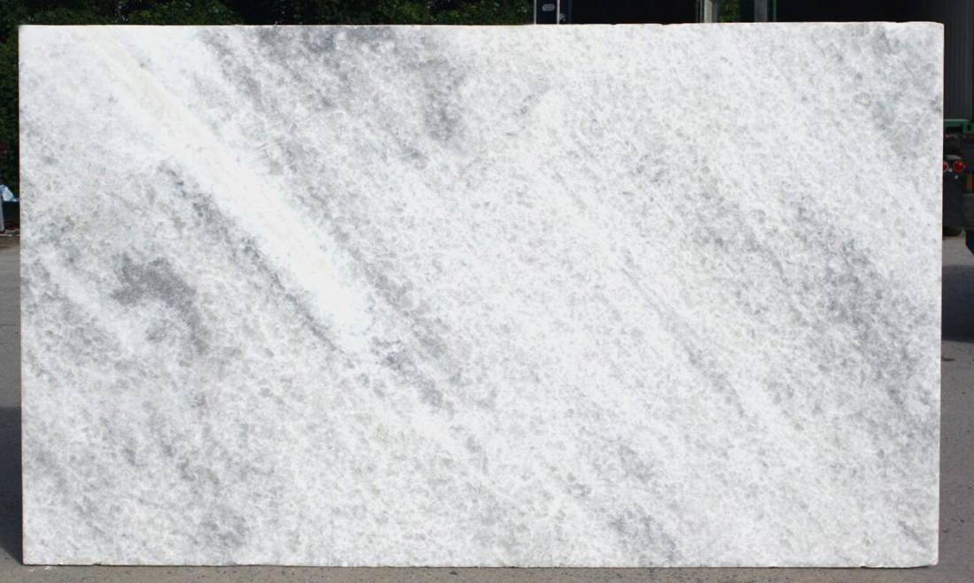 Calcite Bianca Extra Marble Slabs Brazil Polished White Marble Slabs