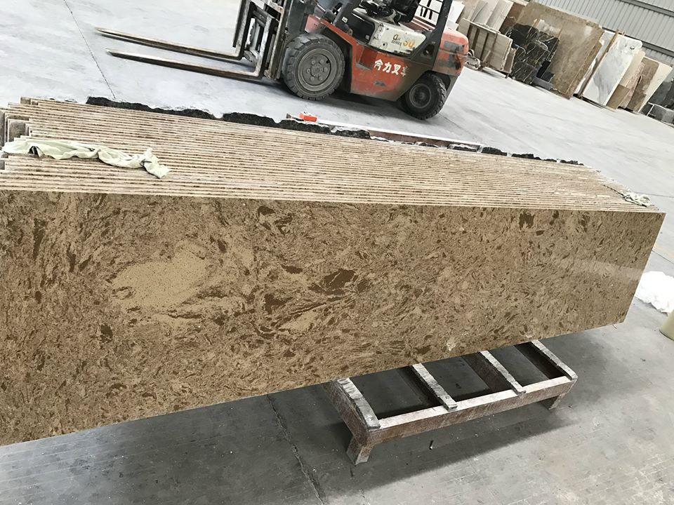 California Brown Granite for Vanity Tops
