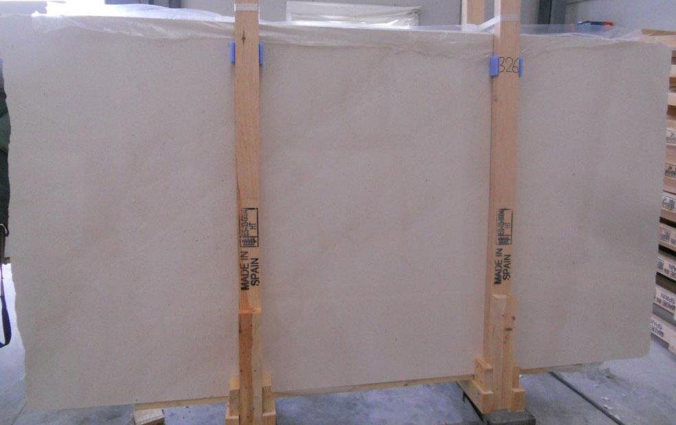 Caliza Capri Limestone White Polished Spanish Limestone Slabs