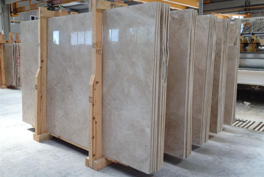 Cappucino Marble Slabs Polished Beige Marble Stone Slabs