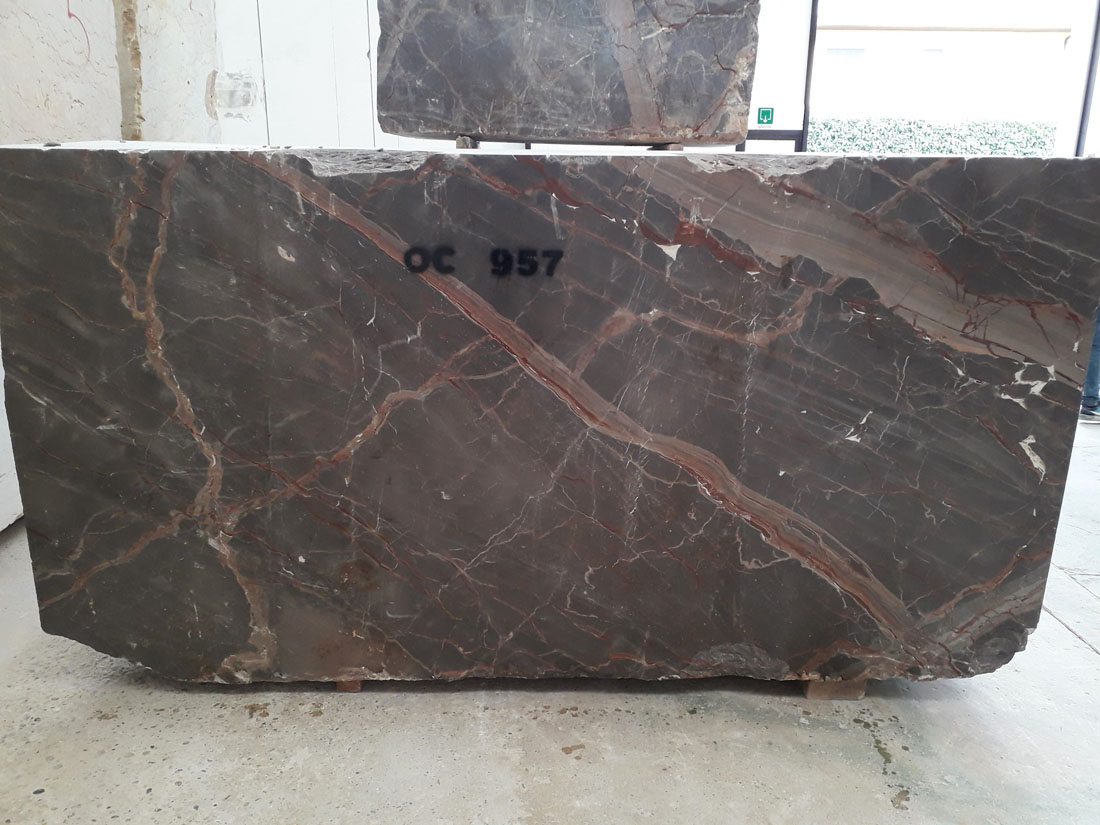 Caravaggio Grey Marble Blocks