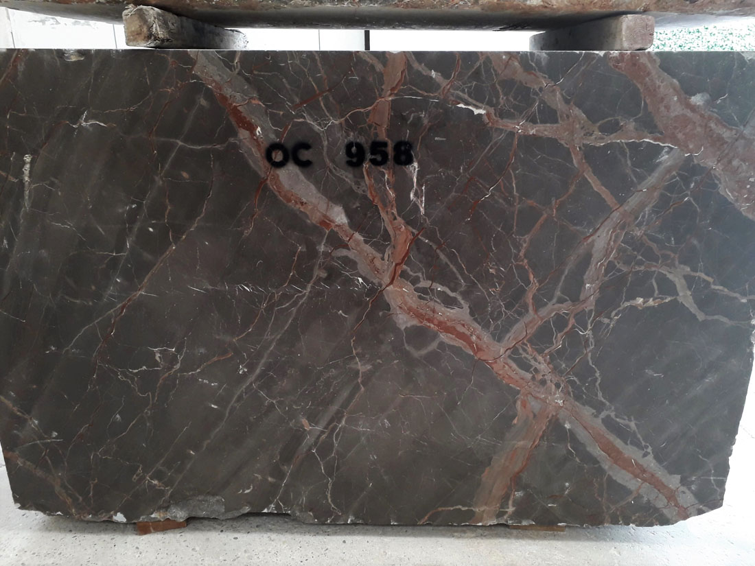 Caravaggio Grey Natural Marble Blocks