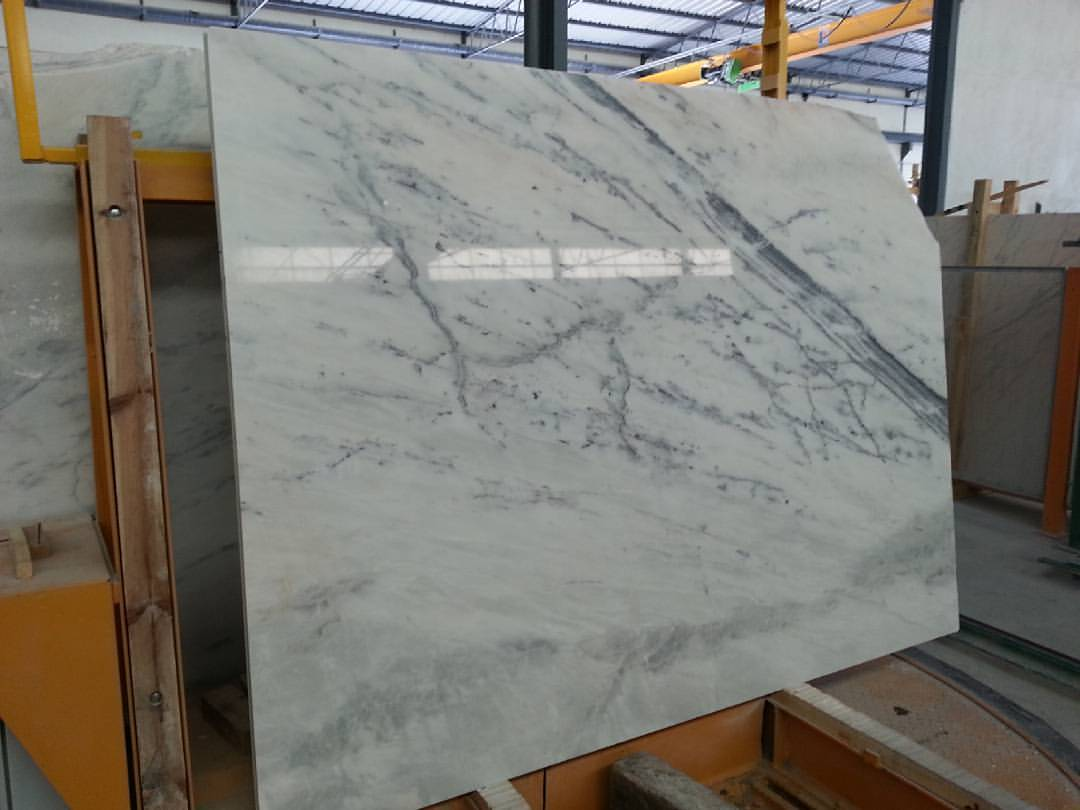 Carradinha Marble Polished Slabs White Marble Slabs