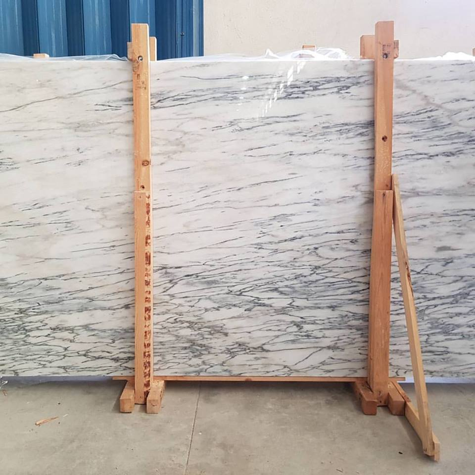 Carradinha Marble Slabs Polished White Marble Slabs