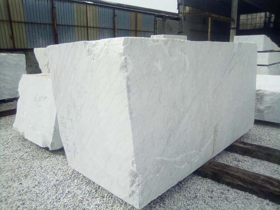 Carrara CD Natural White Marble Blocks