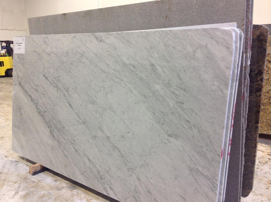 Carrara White Marble Slab from Italy