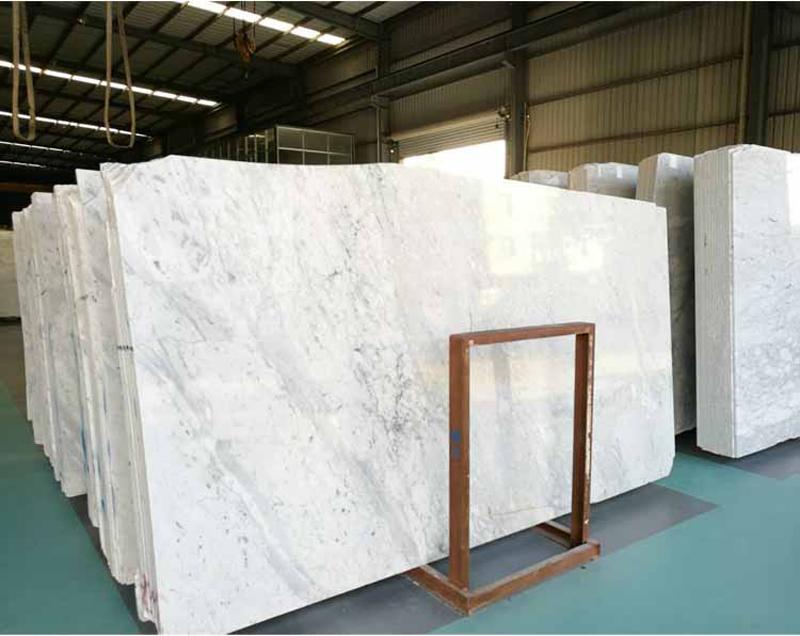 Carrara White Marble Slabs Polished White Top Quality Marble Slabs
