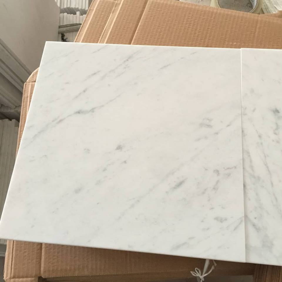 Carrara White Marble Tiles Polished White Marble Tiles Flooring Tiles