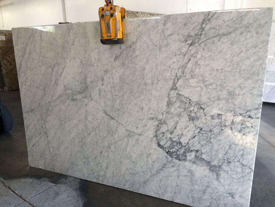 Carrara White Polished Marble Slab Italian White Marble Slabs