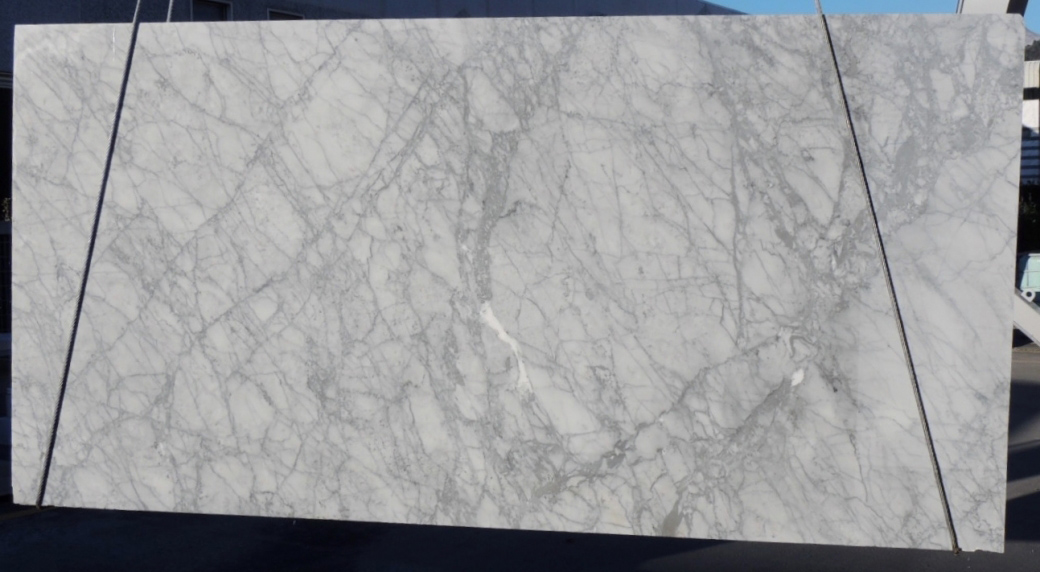 Carrara White Slabs Italian White Polished Marble Stone Slabs