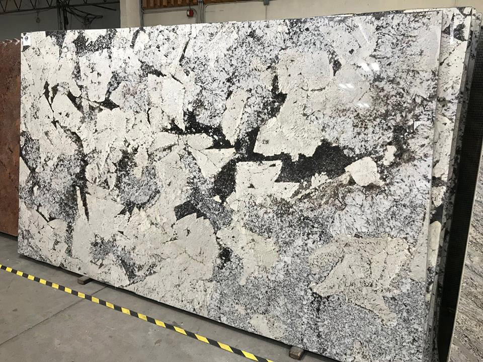Cartier Granite Slabs White Granite Polished Slabs