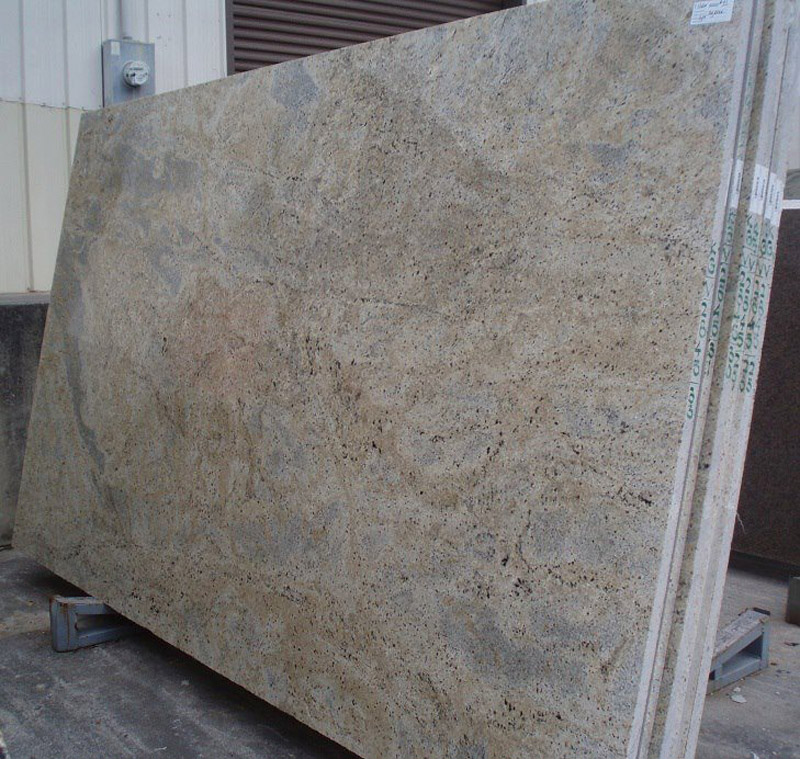 Cashmere Gold Granite Slabs Beige Granite Slabs