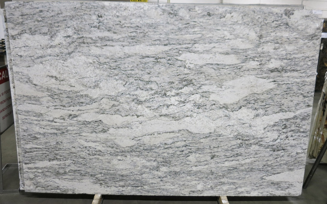 Casablanca 3cm Granite Stone Slabs Brazil Polished White Granite Slabs