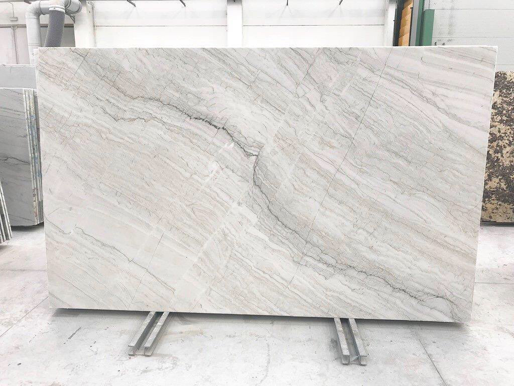 Chamonix Honed Quartzite Slabs White Quartzite Slabs