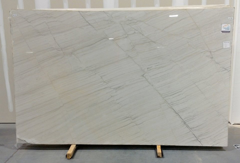 Chamonix Quartzite Polished White Quartzite Slabs