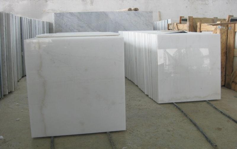 Cheapest China Statuario White Marble Tiles