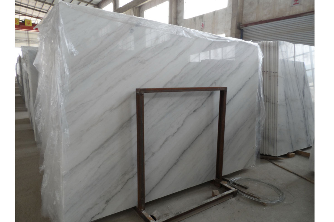 Cheapest Chinese Guangxi White Marble Slabs