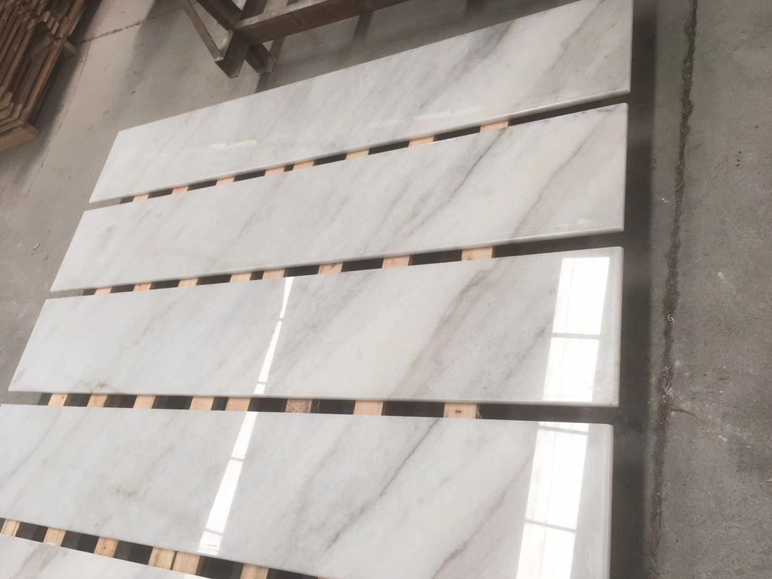 Cheapest Chinese Guangxi White Marble Tiles