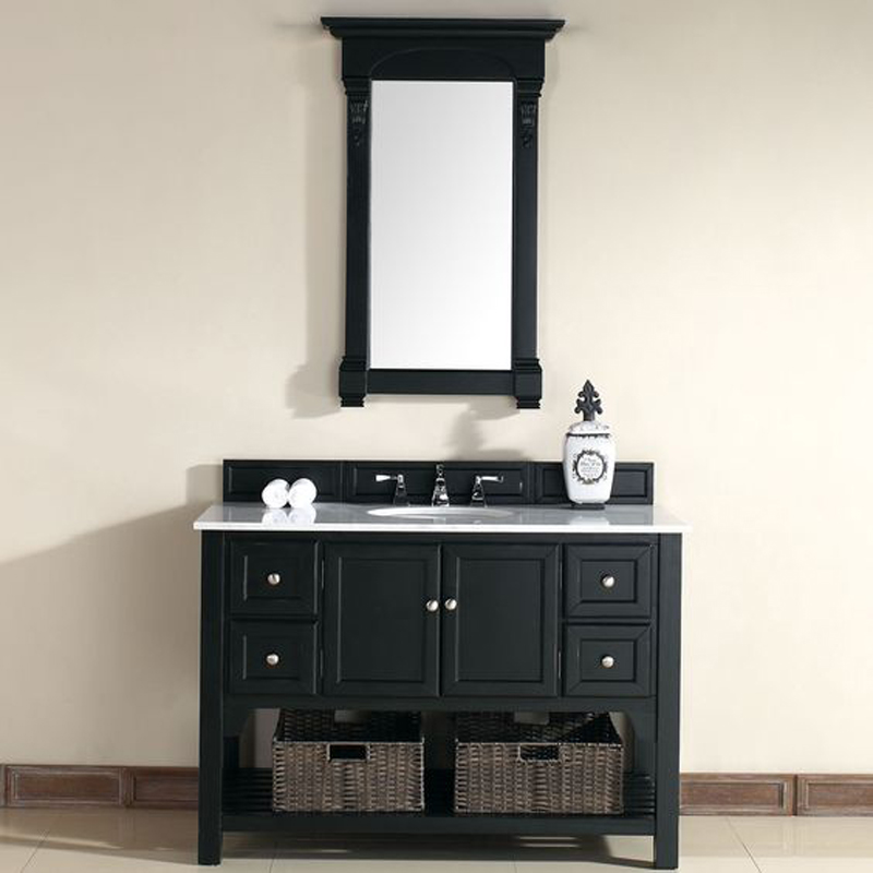 Cheapest Chinese Guangxi White Marble Vanity Tops with Cabinets