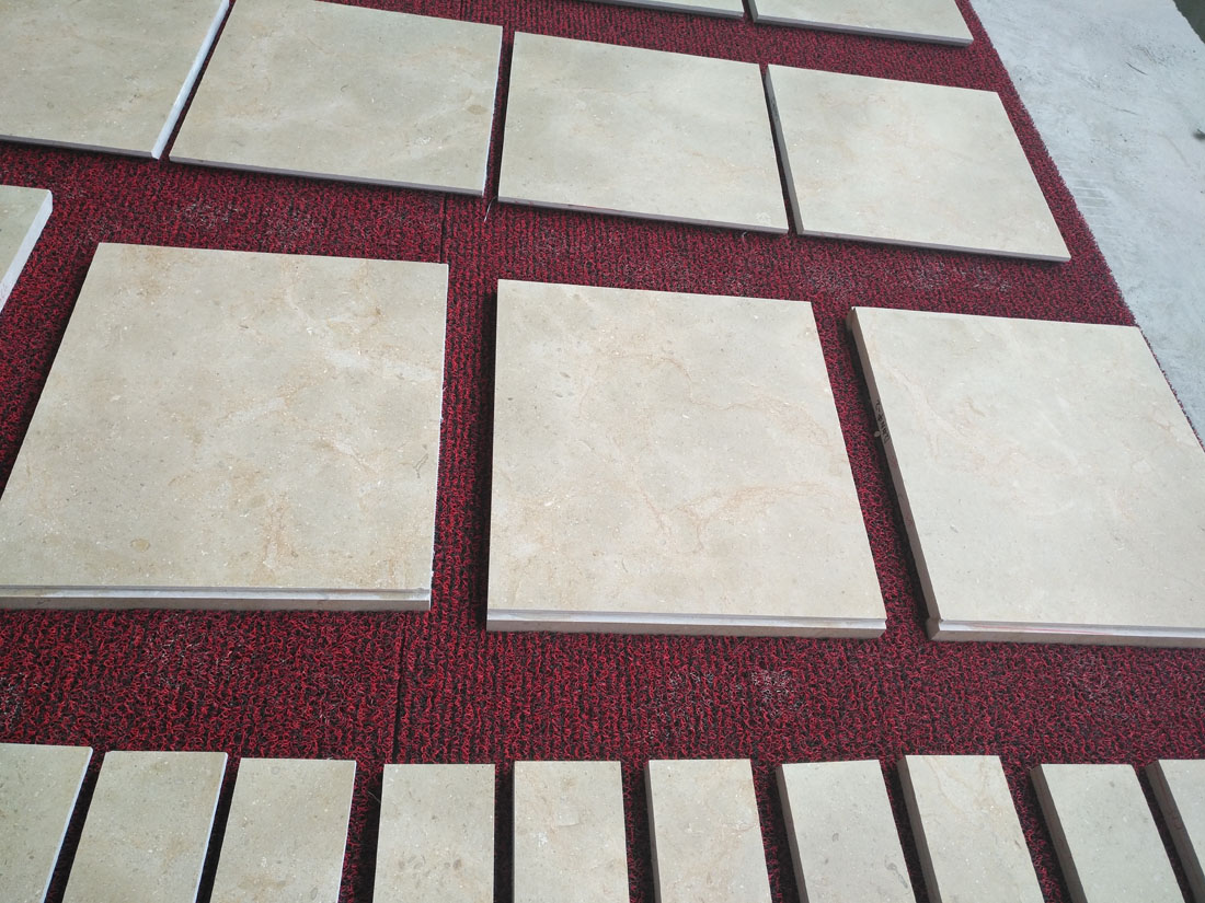 Cheapest New Cream Marfil Polished Marble Tiles